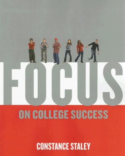 Focus on College Success   2009 9780534638658 Front Cover