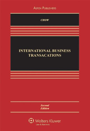 International Business Transactions  2nd 2010 (Revised) edition cover