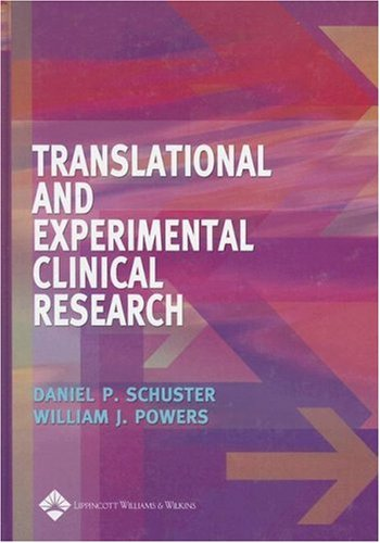 Translational and Experimental Clinical Research   2005 edition cover