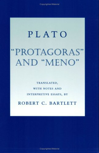 Protagoras and Meno   2004 edition cover