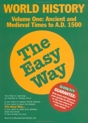 World History the Easy Way   1997 edition cover