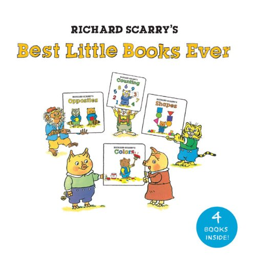 Richard Scarry's Best Little Books Ever   2011 9781402785658 Front Cover