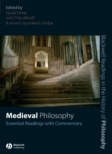 Medieval Philosophy Essential Readings with Commentary  2007 edition cover