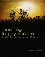 Teaching Inquiry Science in Middle and Secondary Schools   2010 edition cover