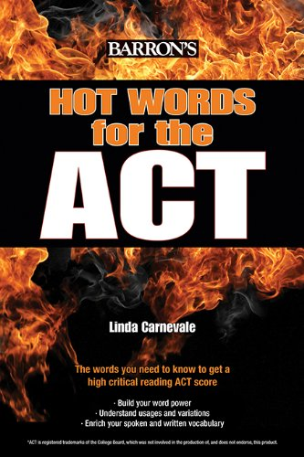 Hot Words for the ACT   2014 edition cover