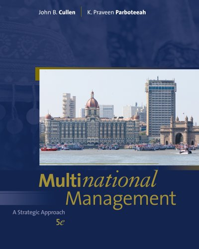 Multinational Management  5th 2011 edition cover