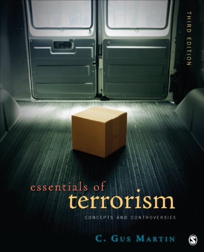 Essentials of Terrorism Concepts and Controversies 3rd 2014 edition cover