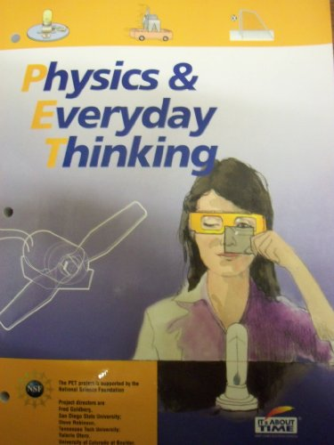 PHYSICS+EVERYDAY THINKING-W/DV N/A edition cover