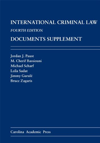 International Criminal Law Documents Supplement  4th edition cover