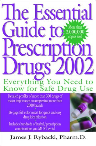Essential Guide to Prescription Drugs 2002  Revised  9780060011659 Front Cover