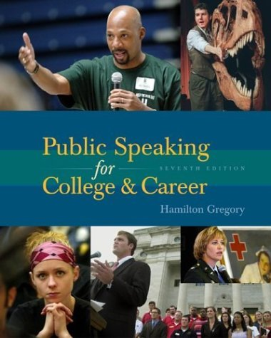 Public Speaking for College and Career with SpeechMate  7th 2005 (Revised) edition cover