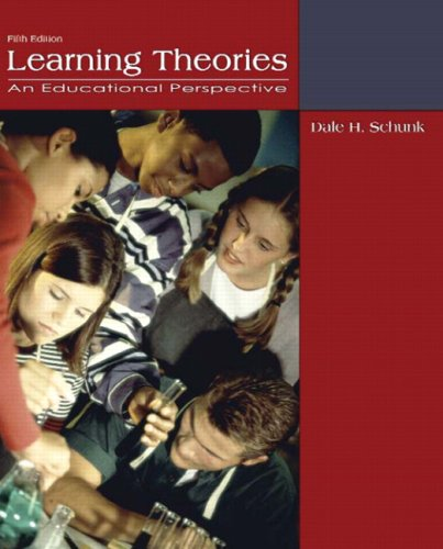 Learning Theories An Educational Perspective 5th 2008 edition cover