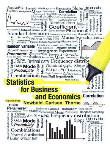 Statistics for Business and Economics  8th 2013 (Revised) edition cover