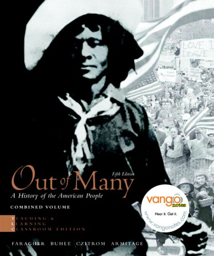 Out of Many A History of the American People 5th 2009 edition cover