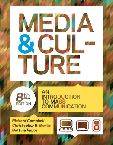 Media and Culture An Introduction to Mass Communication 8th edition cover
