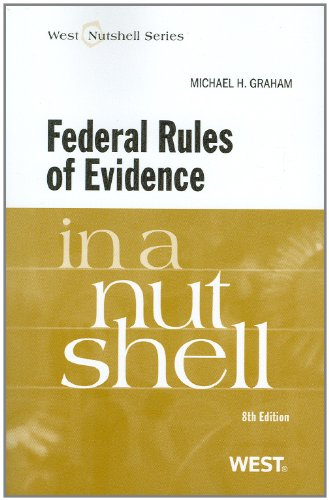 Federal Rules of Evidence  8th 2011 (Revised) edition cover