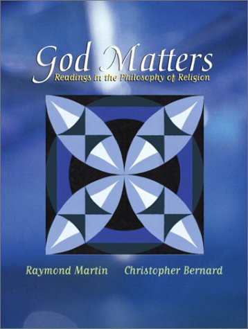God Matters Readings in the Philosophy of Religion  2003 edition cover
