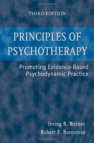 Principles of Psychotherapy Promoting Evidence-Based Psychodynamic Practice 3rd 2009 edition cover