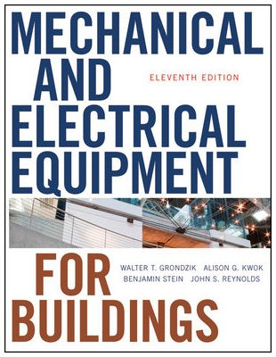 Mechanical and Electrical Equipment for Buildings  11th 2010 edition cover