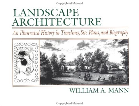 Landscape Architecture An Illustrated History in Timelines, Site Plans and Biography  1993 edition cover
