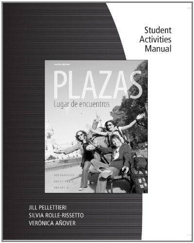 Plazas  4th 2012 (Activity Book) edition cover