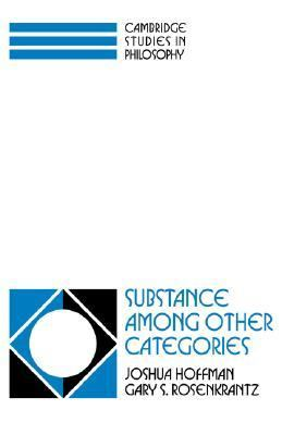 Substance among Other Categories  N/A 9780521039659 Front Cover