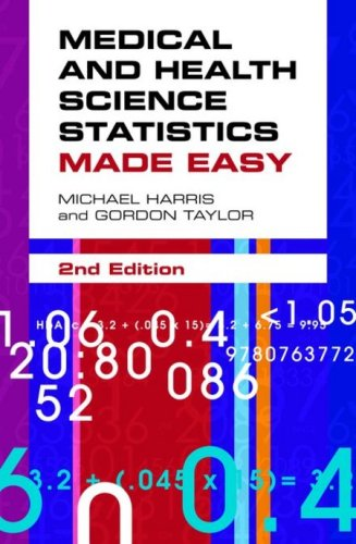 Medical and Health Science Statistics Made Easy  2nd 2009 (Revised) edition cover