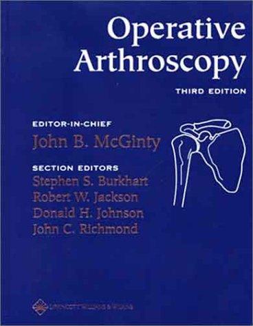 Operative Arthroscopy  3rd 2003 (Revised) edition cover