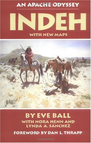 Indeh An Apache Odyssey  1988 edition cover