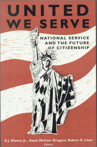 United We Serve National Service and the Future of Citizenship  2003 edition cover