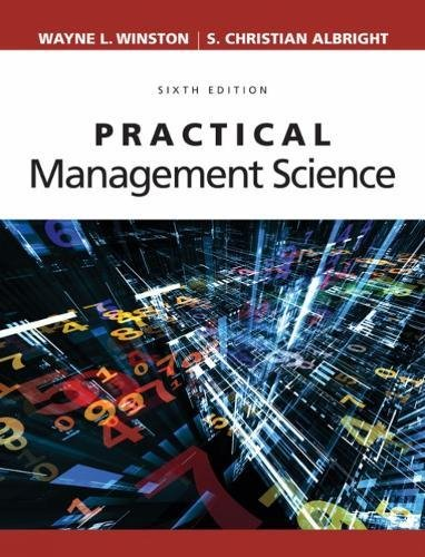 Practical Management Science:   2018 9781337406659 Front Cover