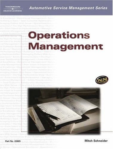 Operations Management   2003 edition cover
