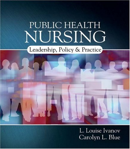 Public Health Nursing Policy, Politics and Practice  2008 9781401839659 Front Cover