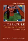 Literature: the Human Experience, Shorter Edition Reading and Writing 11th 2015 edition cover