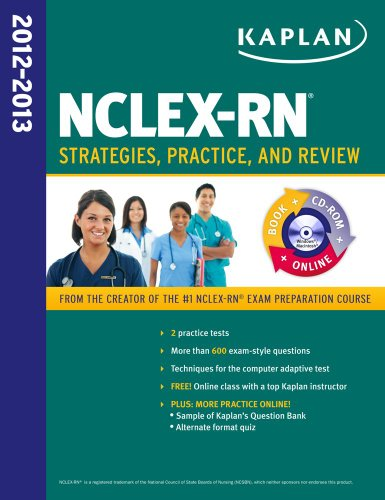 Kaplan NCLEX-RN 2012-2013 Strategies, Practice, and Review  2012 (Revised) edition cover