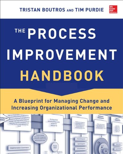 Process Improvement Handbook A Blueprint for Managing Change and Increasing Organizational Performance  2014 edition cover