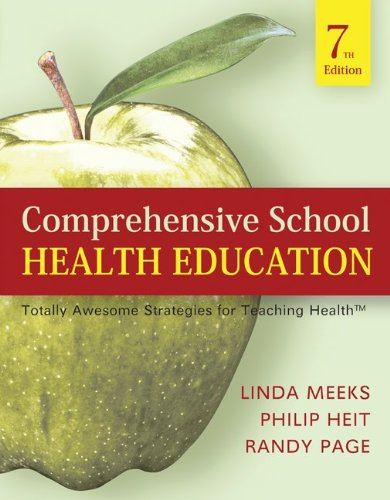 Comprehensive School Health Education Totally Awesome Strategies for Teaching Health 7th 2011 edition cover