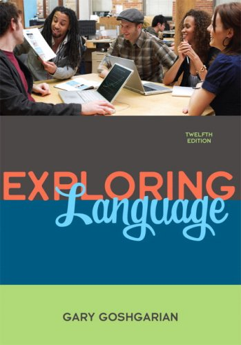 Exploring Language  12th 2010 edition cover