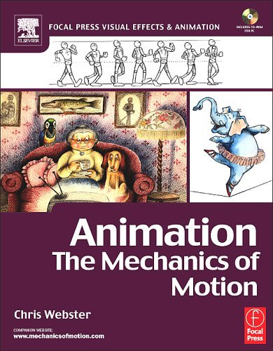 Animation The Mechanics of Motion  2005 9780240516660 Front Cover