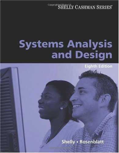 Systems Analysis and Design  8th 2010 edition cover