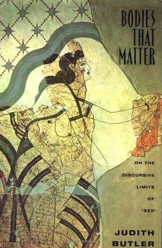 """Bodies That Matter On the Discursive Limits of """"Sex""""  1994 edition cover"""