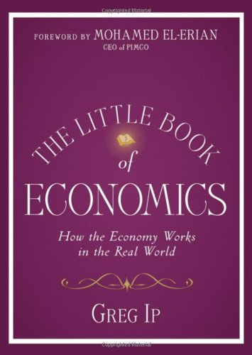 Little Book of Economic How the Economy Works in the Real World  2010 edition cover