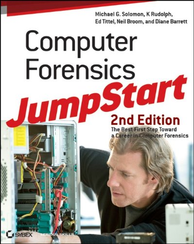Computer Forensics JumpStart  2nd 2011 edition cover
