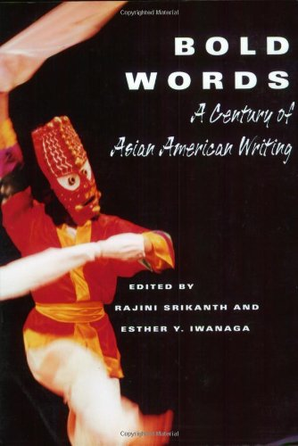 Bold Words A Century of Asian American Writing  2001 edition cover