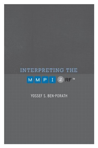 Interpreting the MMPI-2-RF   2010 edition cover