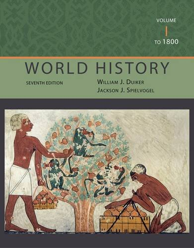 World History - To 1800  7th 2013 edition cover