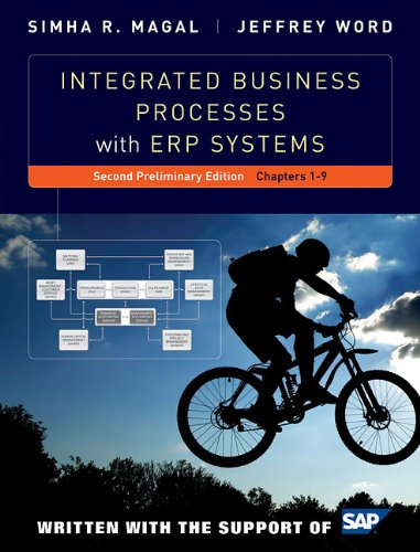Integrated Business Processes with ERP Systems  2nd 2011 9781118027660 Front Cover