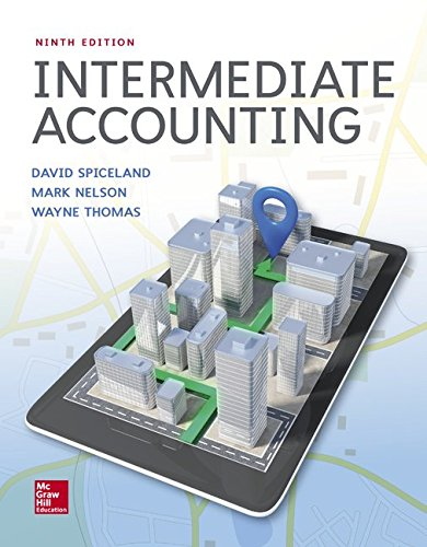 Intermediate Accounting:   2017 9781259722660 Front Cover