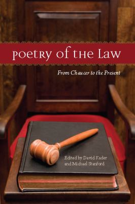 Poetry of the Law From Chaucer to the Present  2010 edition cover