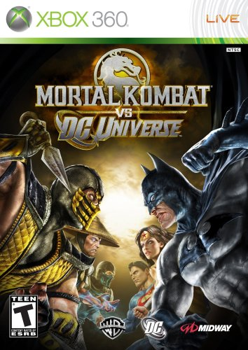 Mortal Kombat vs. DC Universe Xbox 360 artwork
